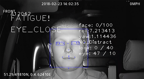 DSM Facial Detection ADAS